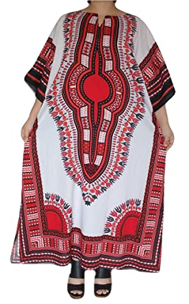 0baa7f6c77f Women s Plus Size Loose Fit Long Maxi Dress Dashiki Jungo