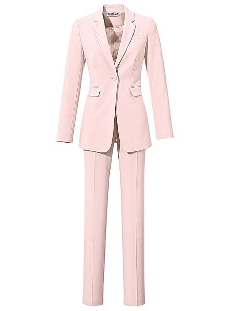 Class Rosa Traje Pantalón Para International De Mujer 50Amazon FK1lTJc3