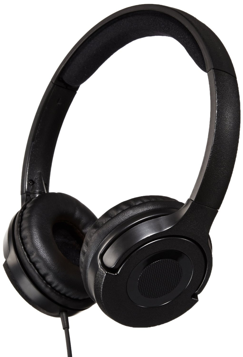 AmazonBasics Lightweight On-Ear Headphones - Black