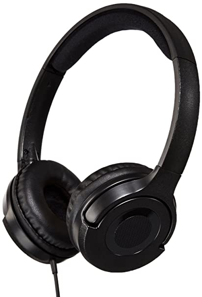 662bc913b52 Buy AmazonBasics On-Ear Headphones (Black) Online at Low Prices in ...