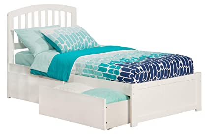 Atlantic Furniture AR8822112 Bed Twin White