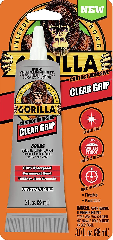 Gorilla Clr Grip Adh 3oz