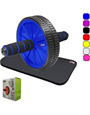 Xn8 Sports Abs Wheel Exercise Wheel Roller Abs Core Abdominal Workout Yoga Fitness Gym