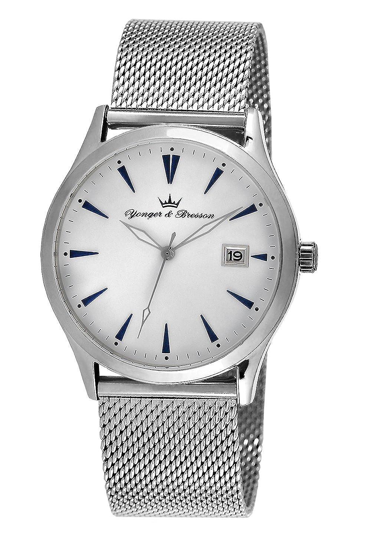 YONGER&BRESSON Herren-Armbanduhr HMC 046-FA