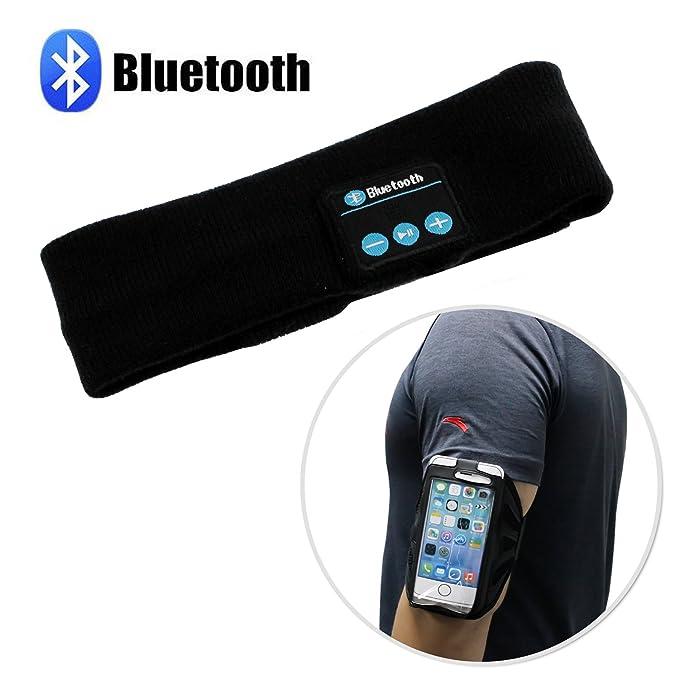 Ecty Bluetooth Deporte Auriculares inalámbricos música Diadema ...