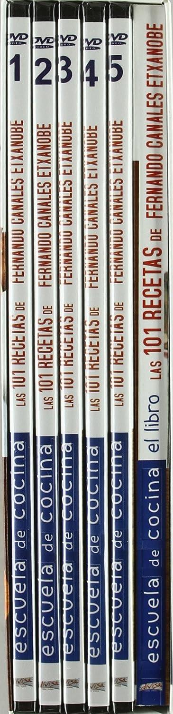 Pack Escuela De Cocina + Libro [DVD]: Amazon.es: ALBERTO GUERRIKABEITIA: Cine y Series TV