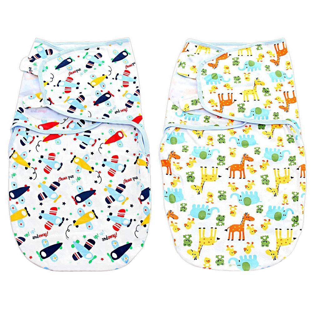 63.5 x 28 2pcs Swaddle Blankets for Newborn Adjustable Infant Baby Newborn Wrap Swaddle 100/% Cotton for Baby Unisex 0-6 Months Lictin Baby Swaddle Wrap Blanket