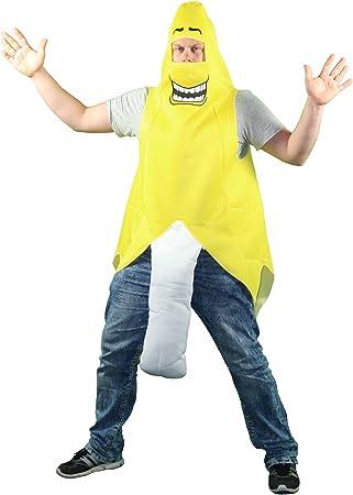 divertido disfraz de plátano para hombres despedida de soltero ...