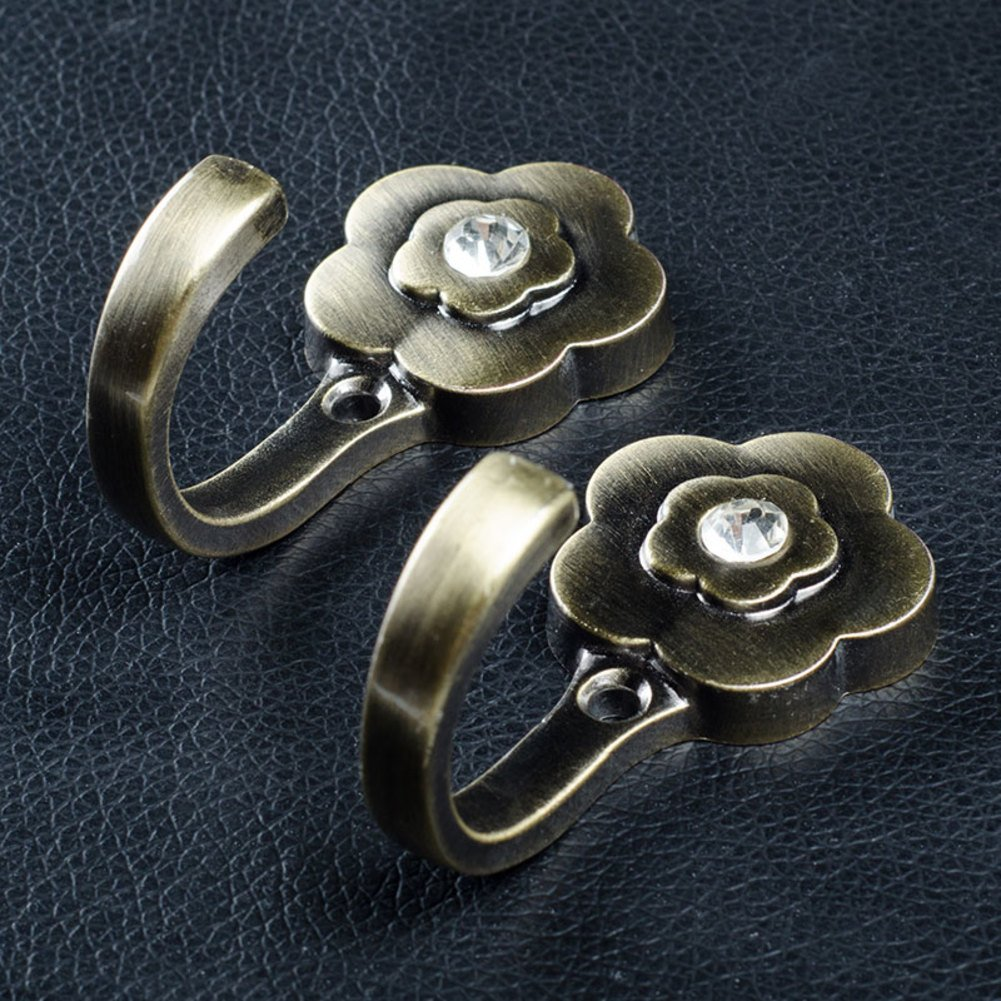 Linked to the dressing room/Wall hanging hooks/Bathroom hook/ linked to zinc alloy/The door hook/Cloakroom hooks-C lovely