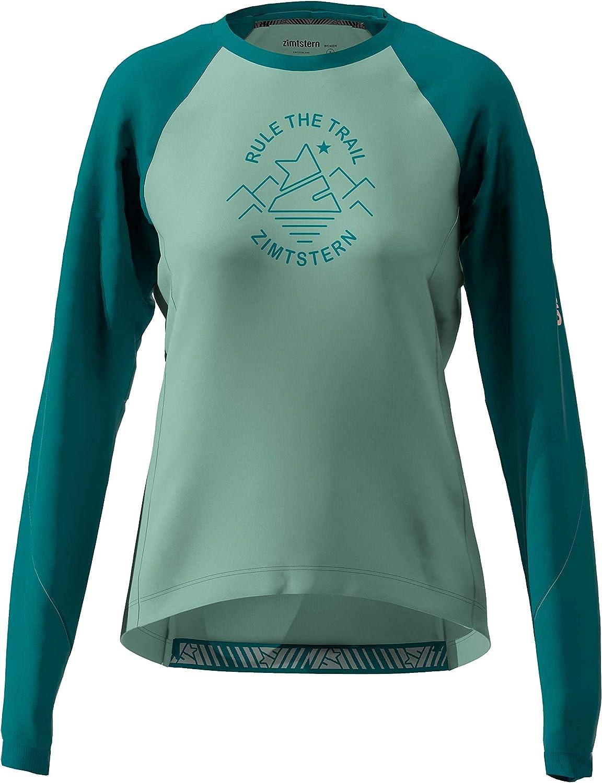 Zimtstern Damen Pureflowz Shirt Ls WMNS MTB