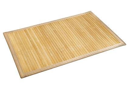 WENKO 17996100 Tappetino bagno Bamboo Naturale - lato inferiore ...