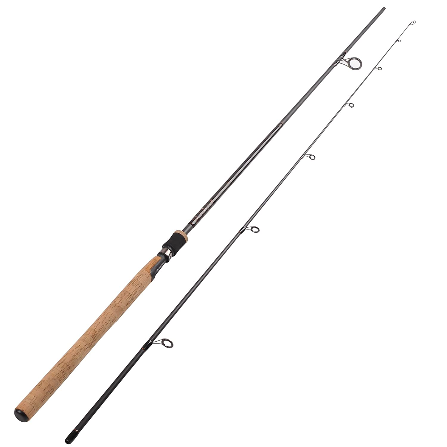 Fiblink sea bass fishing rod 2 piece medium heavy spinning for Heavy fishing rod