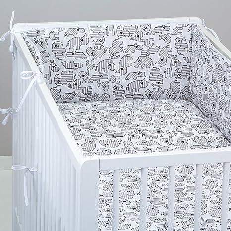Juego de cama de bebé, Juego de 20 piezas, fundas de almohada y ...
