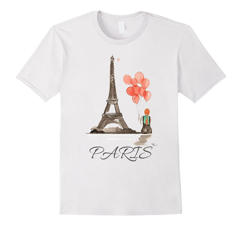 Eiffel Tower Paris Shirt Vintage Souvenir Paris France Shirt-FL
