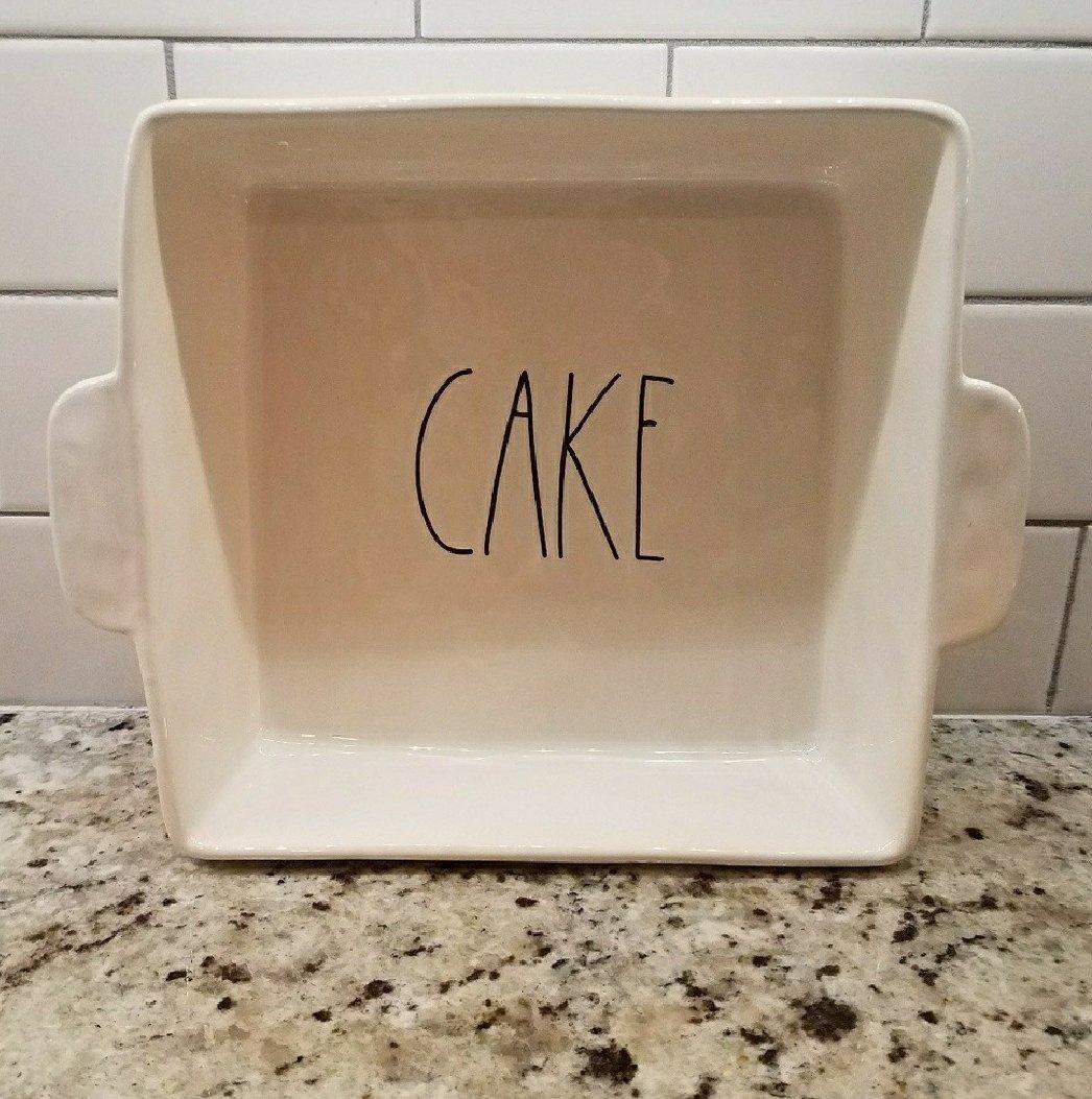Rae Dunn ''Cake'' Pan by Magenta