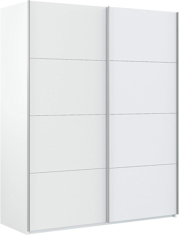 Habitdesign Hera Armario Puertas correderas, Blanco Artik, 150 x 200 x 60 cm
