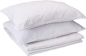"Madison Park Corrine 3 Piece Bedspread Set, King, (120""x118""), Ogee White"