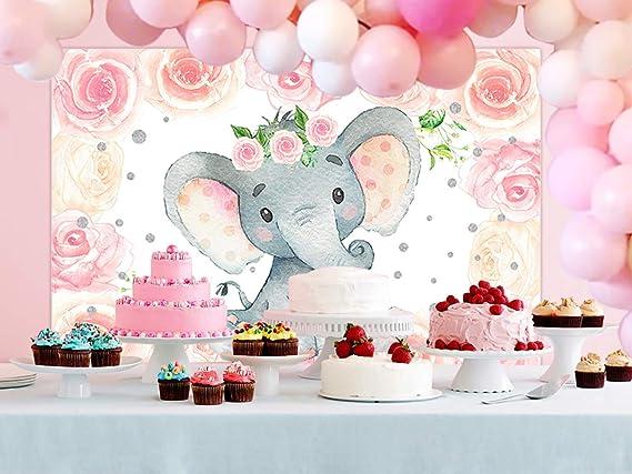 Sensfun Hintergrund Für Babyparty Elefant Kamera