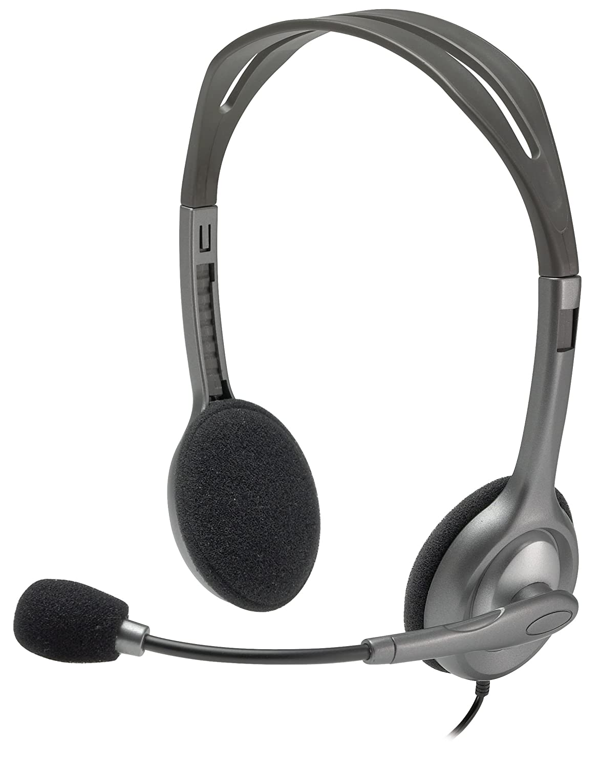 Logitech H340 Wired USB Headset, Black (981-000507) MP3 & Media Player Accessories