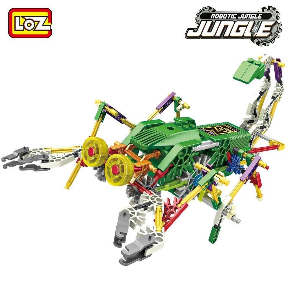 LOZ Motor Building Block Jungle Action Robotic Scorpion 3019 160pcs