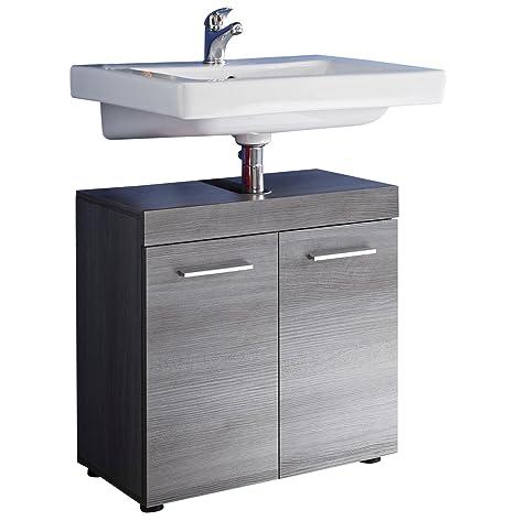 Waschbecken Unterschrank 2-trg. Bad Zingst, Korpus und Front Melamin D