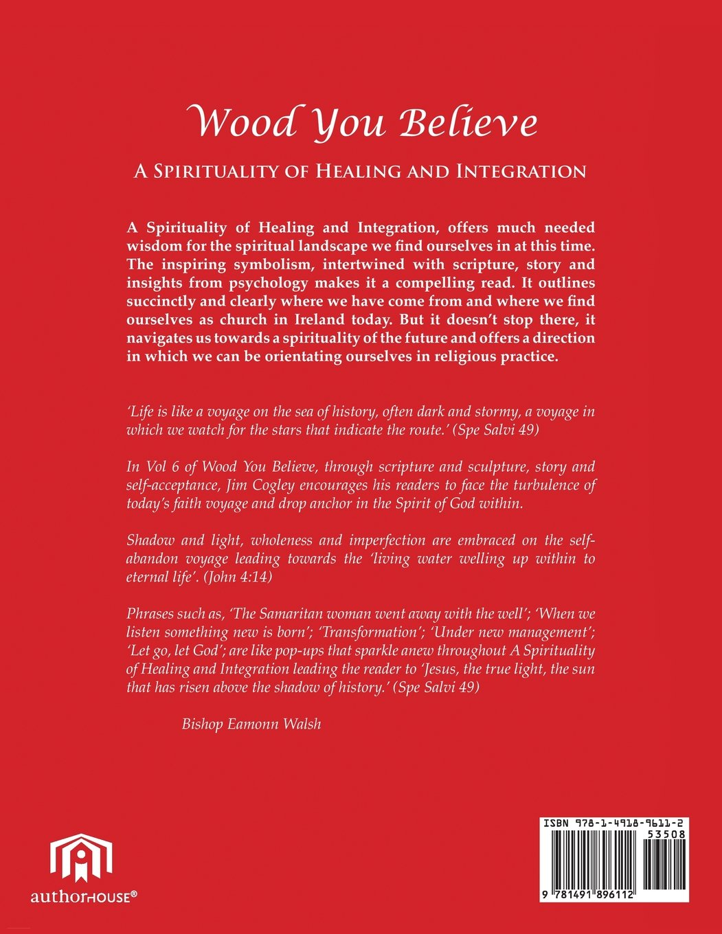 Wood You Believe: The Spiritual Self - A Spirituality of Healing and  Integration for the Times We Live In: Volume 6: Amazon.co.uk: Fr. Jim  Cogley: ...