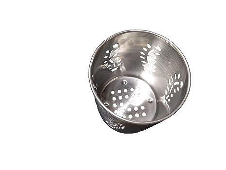 G&D Soporte de cuchara de acero inoxidable/portacubiertos, Regalo del Día de la Madre
