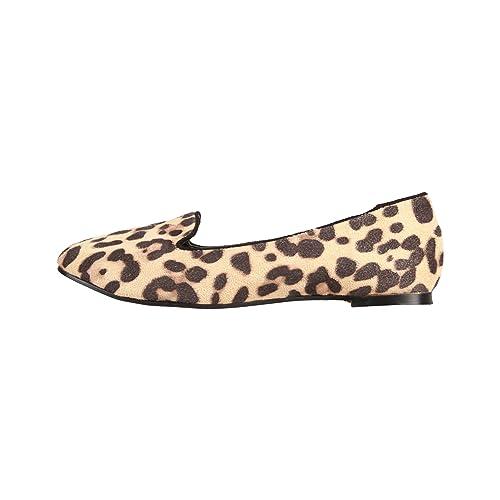 Varie TaglieAmazon Leopardata Animalier itScarpe Ballerina Donna pMSUzV