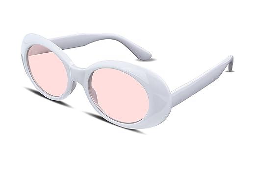 Amazon.com: FEISEDY Clout Goggles Kurt Cobain Sunglasses Acetate ...