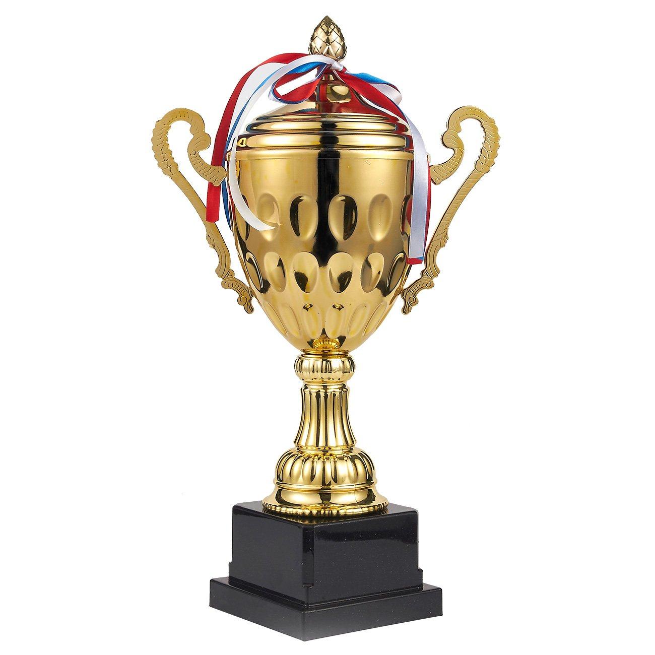 Juvale Trophée de Football–Grande Trophy, Gold Award pour Sports, Tournois, Concours, Doré Doré Large