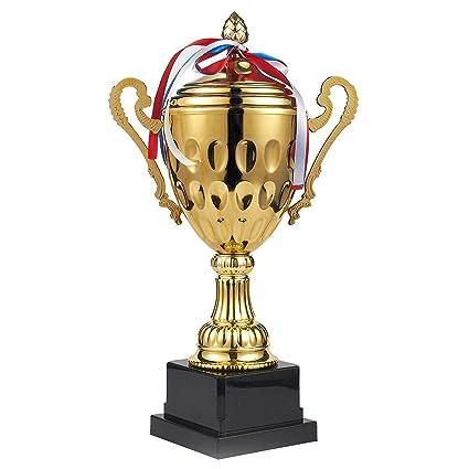 Trophy Cup – Trofeo grande, premio de oro para deportes, torneos, competiciones,