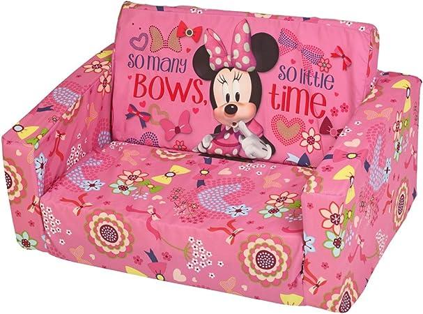 Disney Minnie Mouse Canapé lit Chauffeuse pour enfants