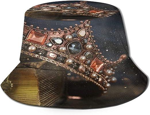 MAYUES Sombrero de Pescador Unisex Imagen de Clave Baja de