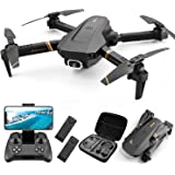 4DRC V4 Foldable Drone with 1080p HD Camera for Adults and Kids, Quadcopter with Wide Angle FPV Live Video, Trajectory…