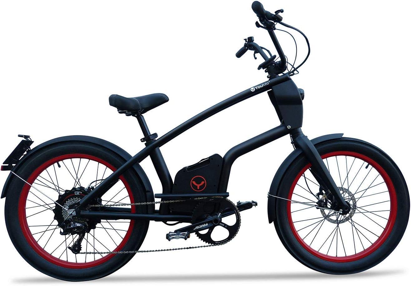 YouMo One X500 S-Pedelec - Bicicleta eléctrica para Adultos, Color ...
