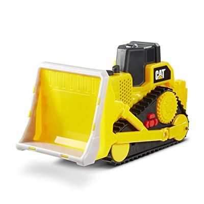 Cat Construction Tough Machines Toy Bulldozer with Lights & Sounds: Toys & Games