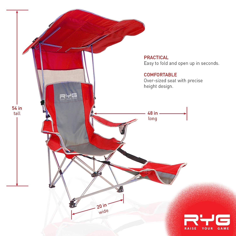 Raise Your Game RYG - Juego de sillas de Camping Plegables y ...