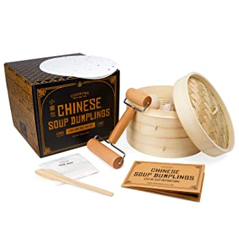 Cooking Gift Set's Complete Bamboo Steamer