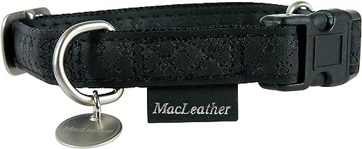 collier pour chien mac leather