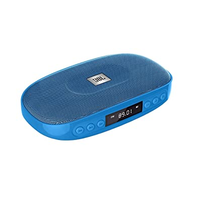 JBL Tune (Blue) Wireless Bluetooth Speaker with SD Card reader / FM and  built-in microphone