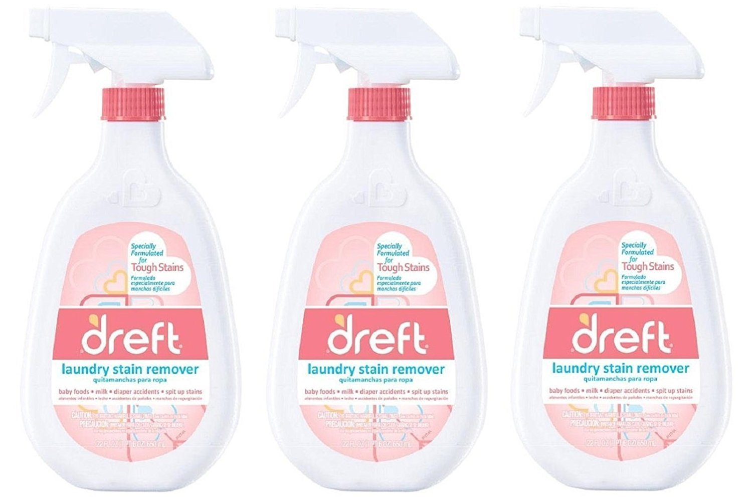 Amazon.com: Dreft Laundry Stain Remover, 22 Oz (Pack of 3): Health & Personal Care