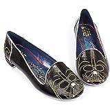 Star Wars Darth Vader Irregular Choice Womens Loafers Flats Shoes (8.5)