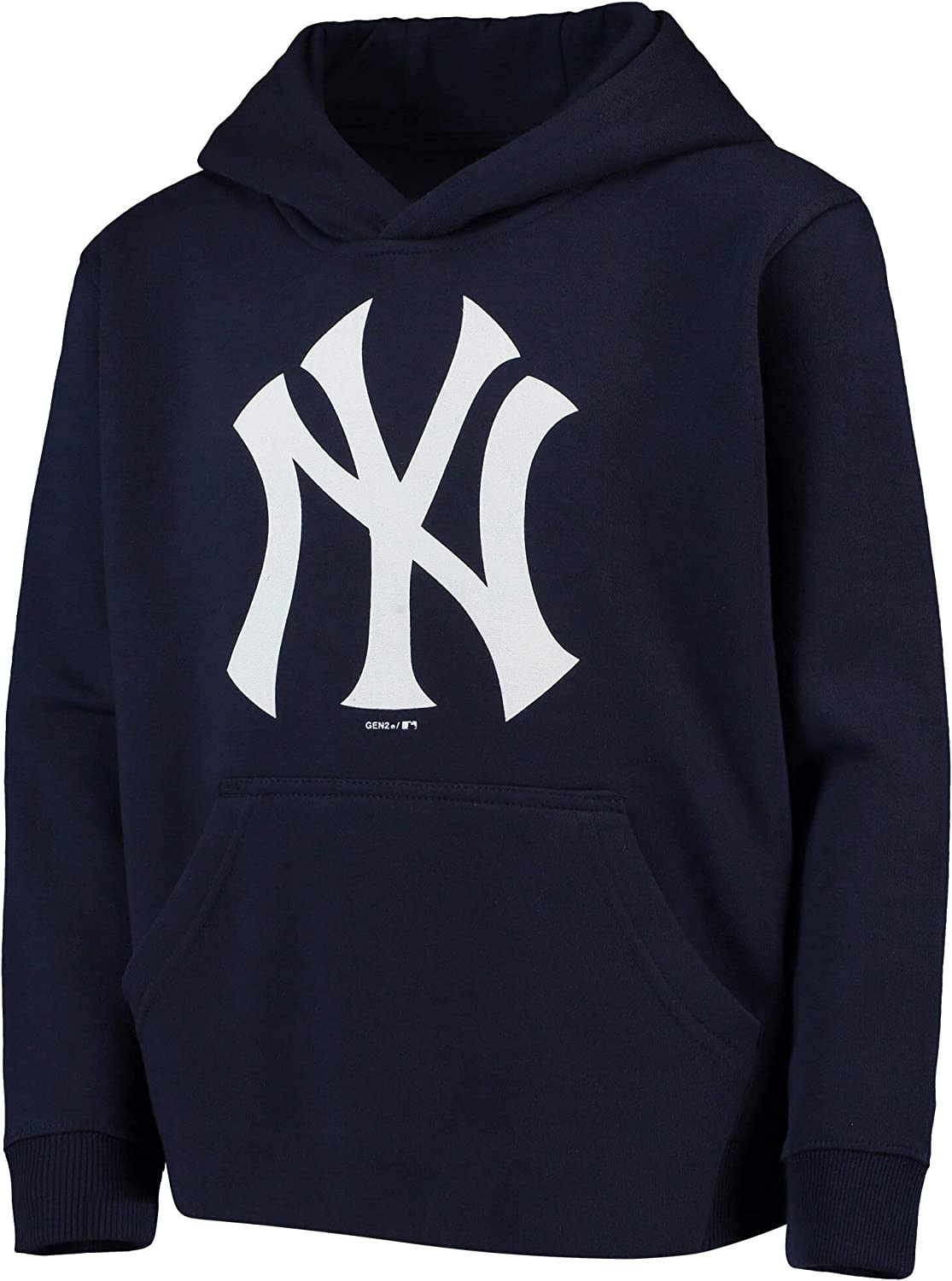 Outerstuff MLB Youth 8-20 Team Color Primary Logo Fleece Pullover Sweatshirt Hoodie