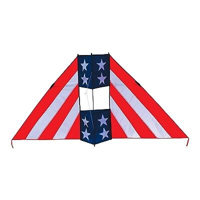 In the Breeze Patriot Conyne Delta Kite, 6-Feet : Wind Socks : Garden & Outdoor