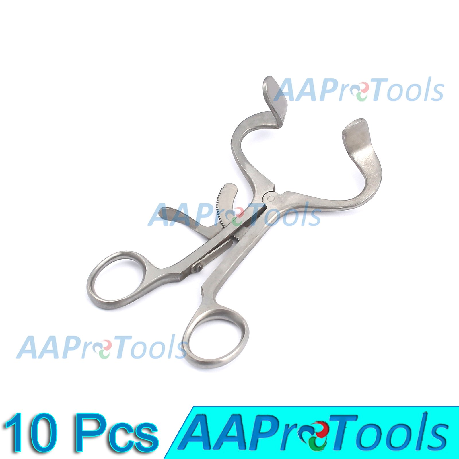 AAPROTOOLS 10× DENTAL MOUTH GAG 5.5'' STAINLESS STEEL INSTRUMENTS A+ QUALITY