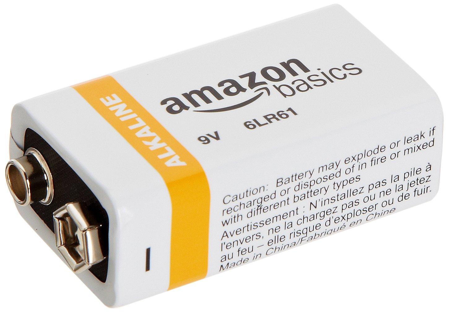amazonbasics 9 volt everyday alkaline batteries 8 pack. Black Bedroom Furniture Sets. Home Design Ideas