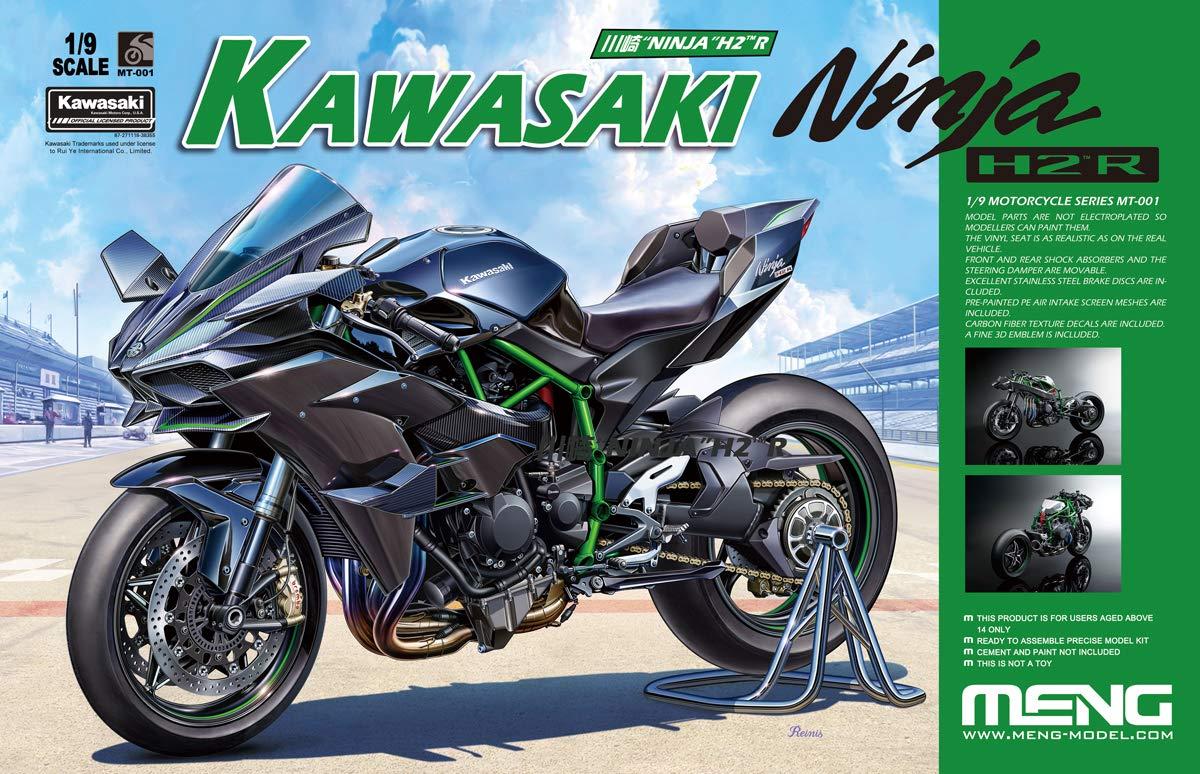 モンモデル 1/9 カワサキ Ninja H2R 通常版 プラモデル MMT001 B07PLSQ1WR
