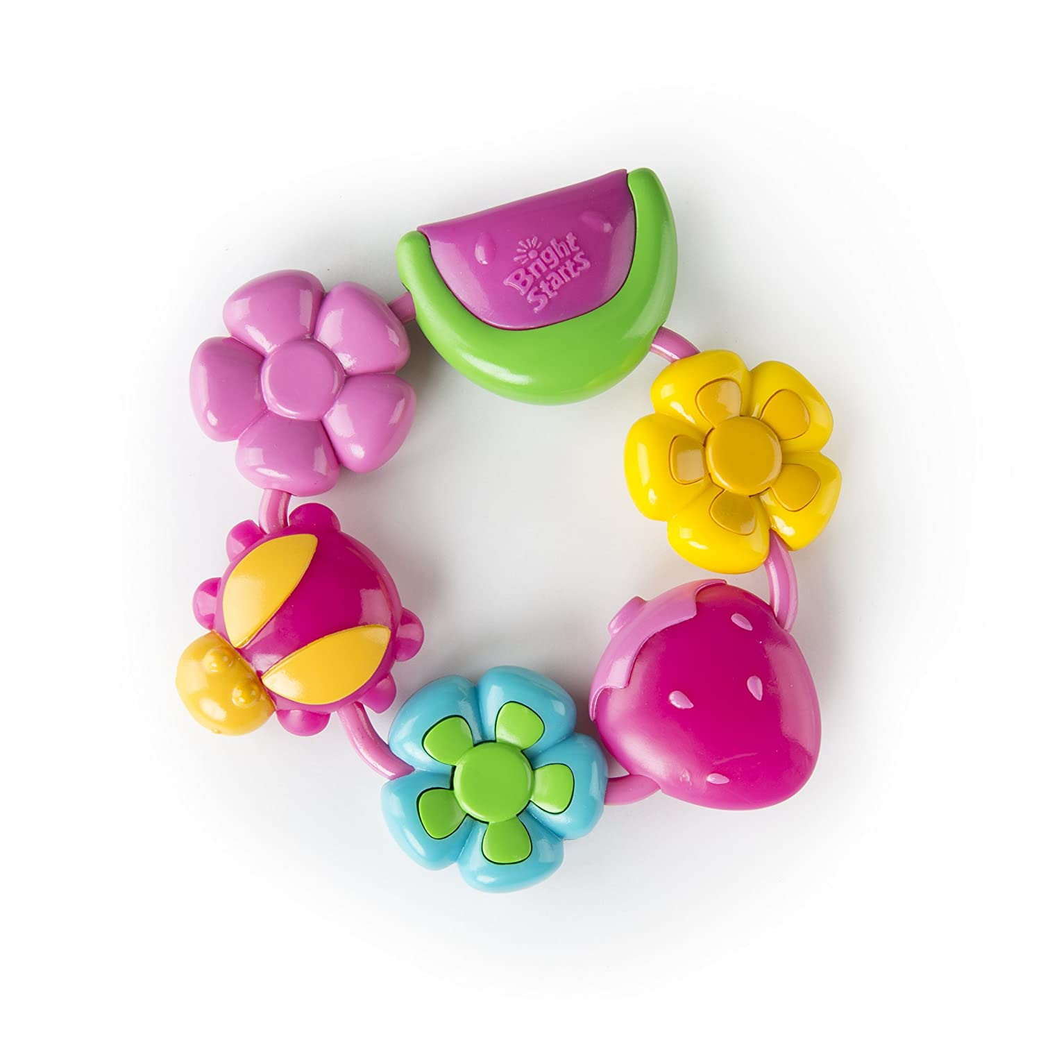 BRIGHT STARTS Buggie Bites Teether KIDS II 52028-12-W11