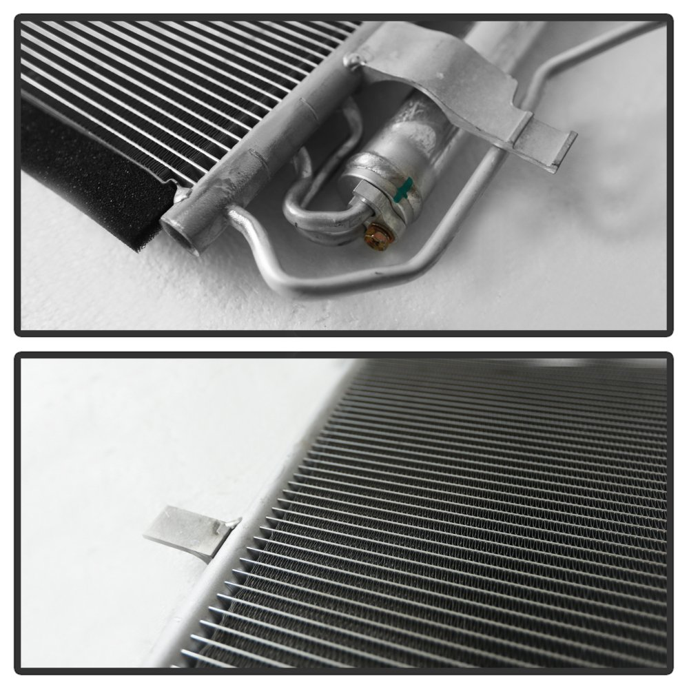 VIPMOTOZ Air Conditioning A//C Condenser Assembly Replacement For 2010-2013 Mazda 3