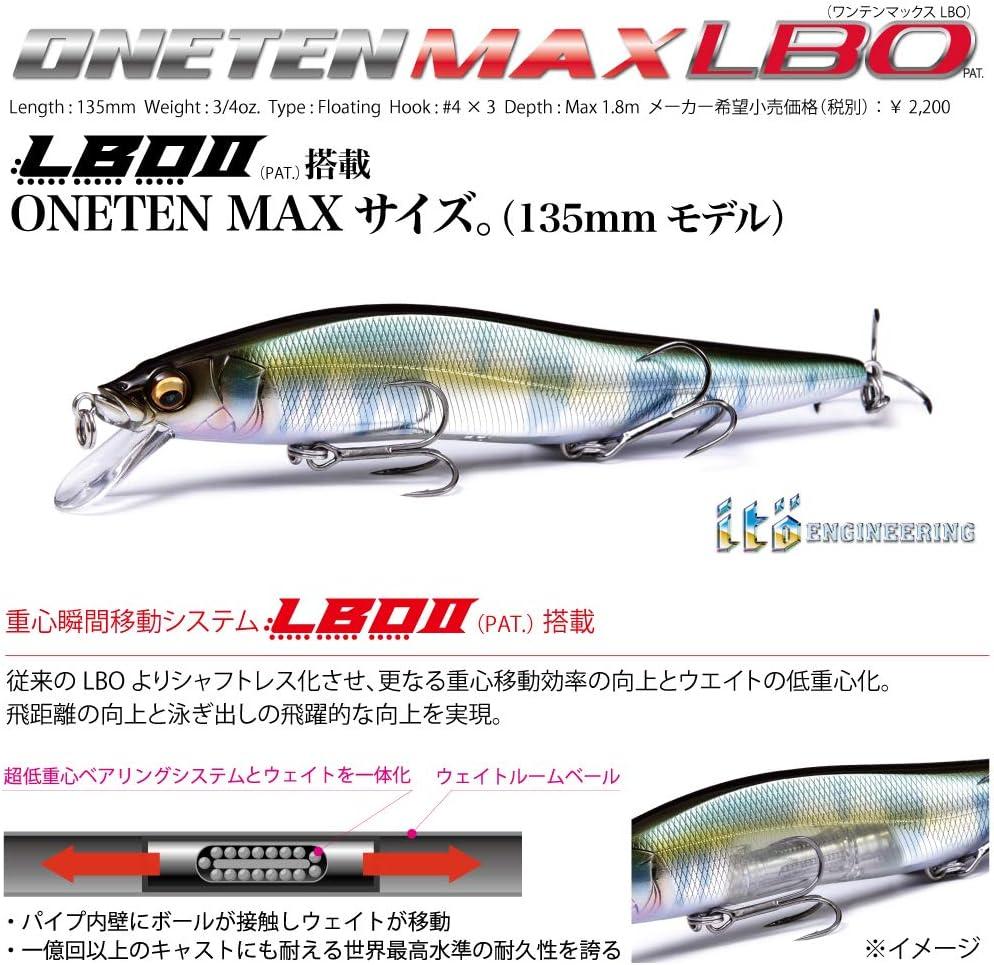 MEGABASS Vision ONETEN Max LBO 135mm 3//4oz
